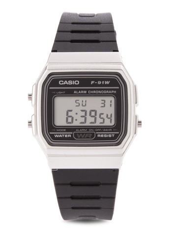 Casio black Digital Watches CA076AC0K7XXPH_1