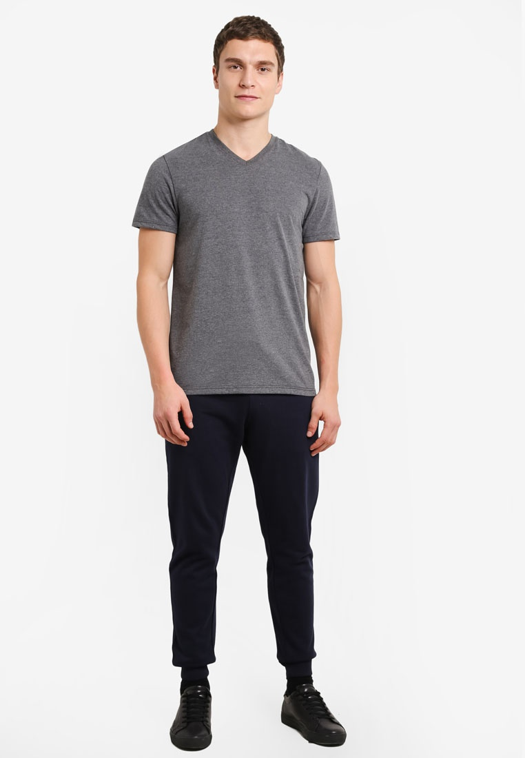 Burton Black V London Pack Charcoal White Navy Basic Shirt Menswear T 3 Blue And wzRTZ
