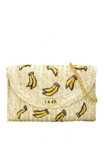 Shapes and Curves beige Banana Bali Rattan Beach Bag 2C0EAAC1D423D8GS_1