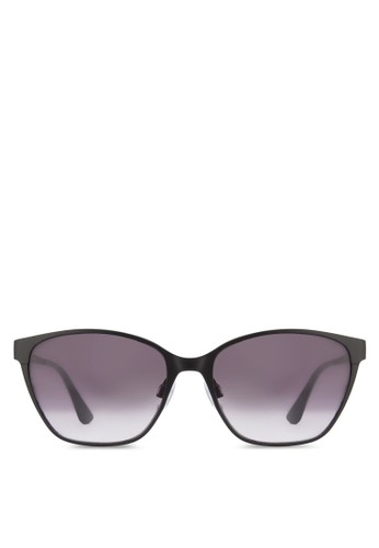 金屬貓眼鏡框太陽眼鏡、 飾品配件、 飾品配件ELLE金屬貓眼鏡框太陽眼鏡最新折價