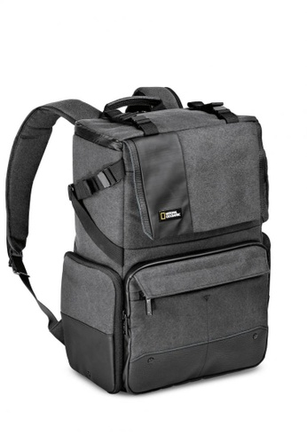 National Geographic black and grey NG W5072 Walkabout Camera Backpack for DSLR 56337AC63541A1GS_1