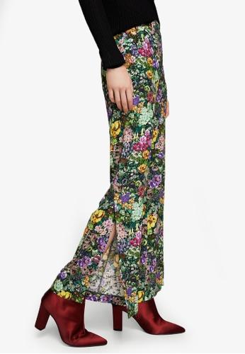 Mango multi Floral Print Trousers MA193AA0RMJOMY_1