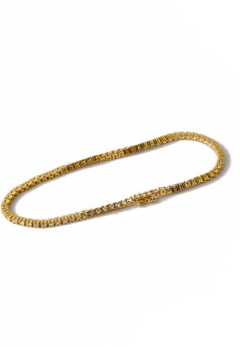 CEBUANA LHUILLIER JEWELRY gold 14 Karat Yellow Gold Pulcera With Diamonds 861A7AC3030567GS_1