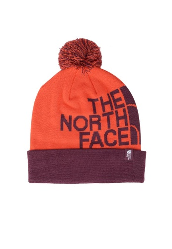 The North Face red TNF SKI TUKE V FIERY RED/FIG D7135AC2BA73B1GS_1