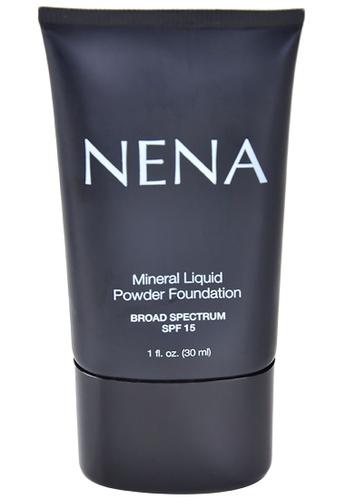 NENA Cosmetics beige Almond Mineral Liquid Foundation 3AFAEBE39346A3GS_1