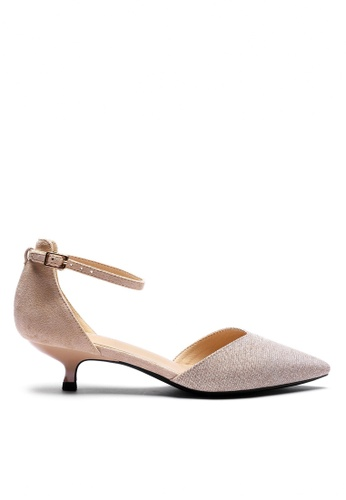 Twenty Eight Shoes Glitter Strap Mid Heel 395-1 F26F9SH4061DA8GS_1