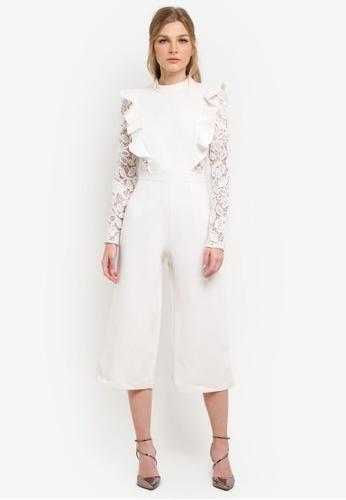 True Decadence white Ladies Jumpsuit TR715AA0S2Z0MY_1