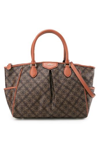 Tocco Toscano brown Hand Bag C4A8CAC962A5A4GS_1