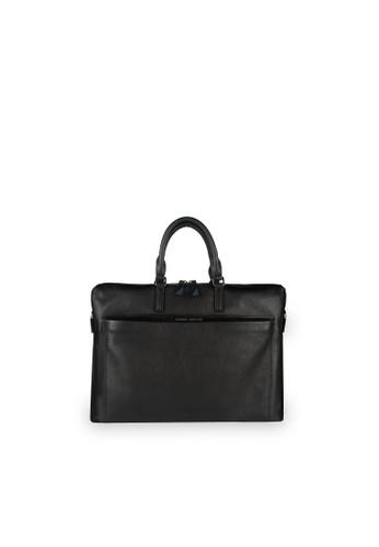 Samuel Ashley black Charleston Briefcase (RFID) - Black 8A557ACD41876EGS_1