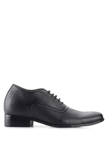 Keeve black Keeve Shoes Peninggi Badan Formal 106- Hitam 1CF8BSHAEDB631GS_1