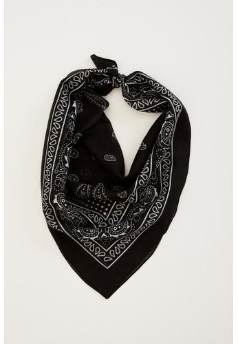 DeFacto black Woman Scarfs/Shawls/Towels Shawl 0527DAC8BA044FGS_1