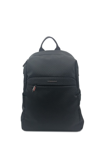 Goldlion black Traveler Backpack (with Laptop Compartment) 5662CAC383B5E6GS_1