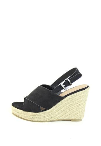 London Rag 黑色 London Rag 女士黑色高跟凉鞋 DE0E1SH7926134GS_1
