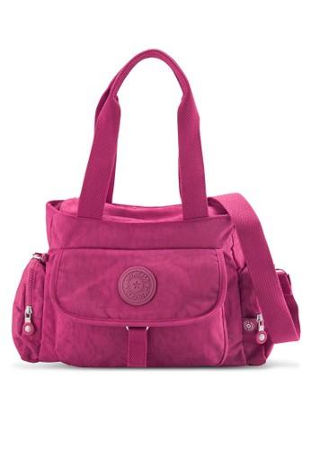 MDS Crinkled Nylon esprit outlet 高雄Fabric Convertible Shoulder Bag, 包, 肩背包