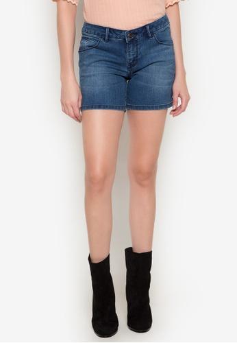 Freego blue Ladies Shorts FR760AA0K3Z3PH_1