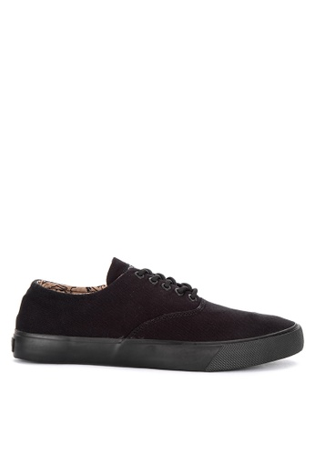 Sperry black Captain's CVO Surplus Sneakers 9DF9FSHF4F5C6AGS_1