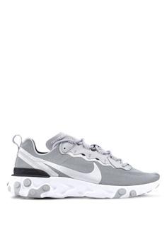 cbcf10c19c03 Nike black Nike React Element 55 Shoes DC67DSH61FFA66GS 1