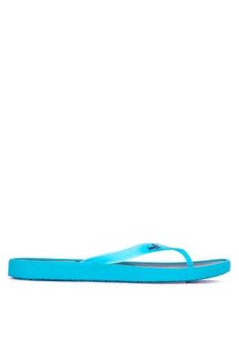 101eac1e8da Shop Sanuk Sidewalker Neon Flip Flops Online on ZALORA Philippines