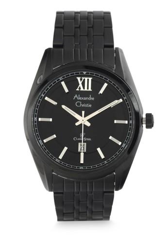 Alexandre Christie black Alexandre Christie Jam Tangan Pria - Black - Stainless Steel - 8501 MDBIPBA 5E6A9AC4A02A88GS_1