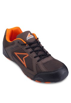 Cache Triangle 網眼拼接運動鞋