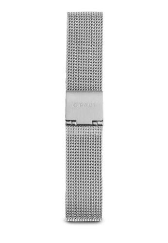 Christian Paul silver 35mm Silver Metal Mesh Strap CH275AC38TYZMY_1