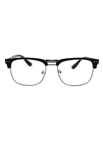 25a013e65a2e6 Kyfer s Eyewear   Essentials black Vintage Double-bar Clubmaster (Matt)  KY376AC87ROMSG 1