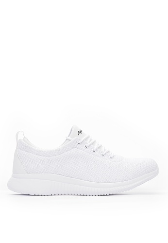 Life8 white Lightweight Sport Spring Shoes-White-09785 30558SH7A14E78GS_1