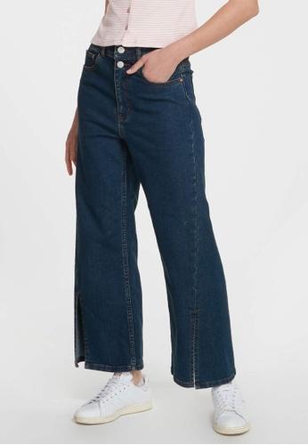 6IXTY8IGHT blue BULLDOG, High Waist Wide-Leg Jeans PN09006 A669EAAF023FB9GS_1