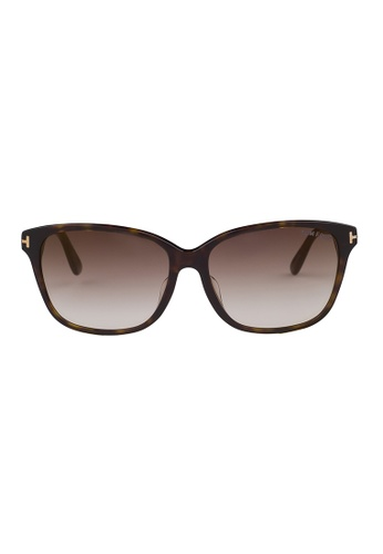 Tom Ford brown TOM FORD Dana Sunglasses FT0432F 52G TO545AC69JISMY_1
