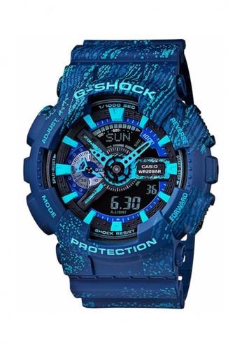 G-shock blue CASIO  G-SHOCK GA-110TX-2A GS076AC67NTGMY_1