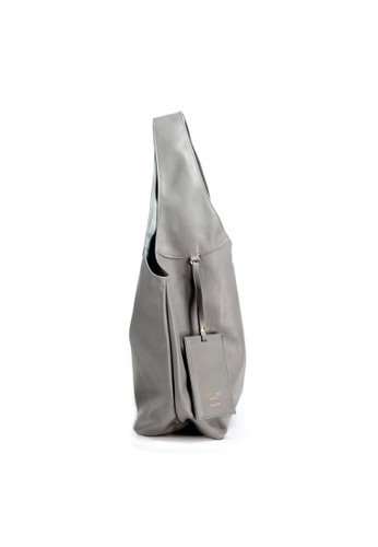 Buy Shu Talk Italian Made Leather Slouch Hobo Tote Bag  60fb124048b73