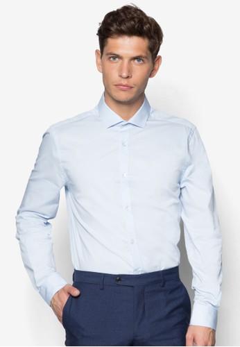 商務長袖zalora 心得襯衫, 服飾, 服飾