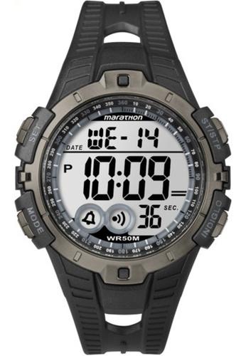 Timex black and grey Marathon T5K802 5A3EBACAFF7DCAGS_1