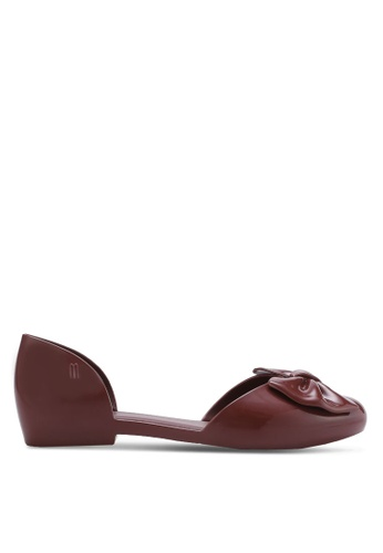 Melissa red Melissa Angel Ii Ad Flats ME121SH73CPMMY_1