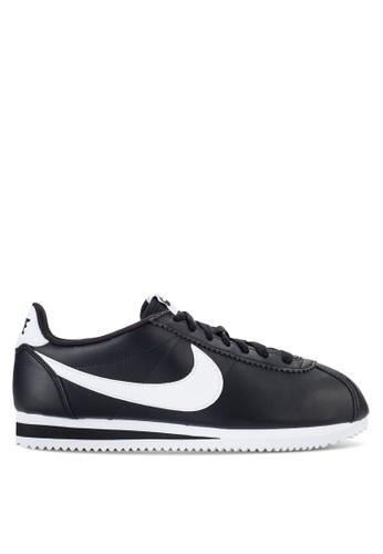 hot sale online e97db d75c4 Nike black Nike Classic Cortez Leather Shoes D462CSHC0D4847GS 1