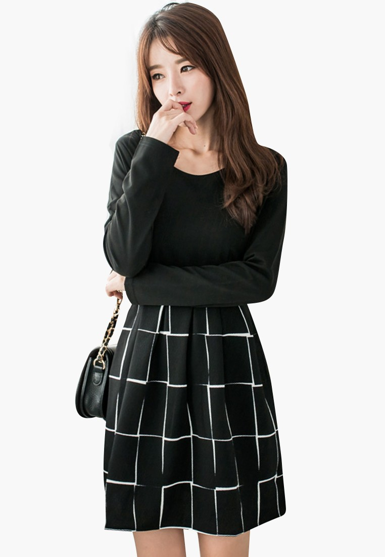Intellectual Style Swing Dress