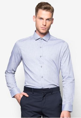 印花長袖襯衫, 服飾,esprit旗艦店 襯衫