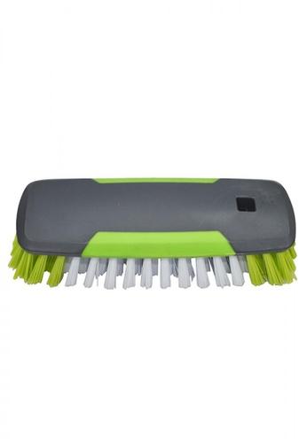 Scrubz green Heavy Duty Cleaning Essentials Easy Grip Premium Multi-Purpose Brush EBD63HLD698492GS_1