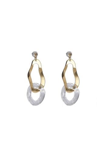 niko and ... yellow Drop Earrings B6073AC757BFC0GS_1