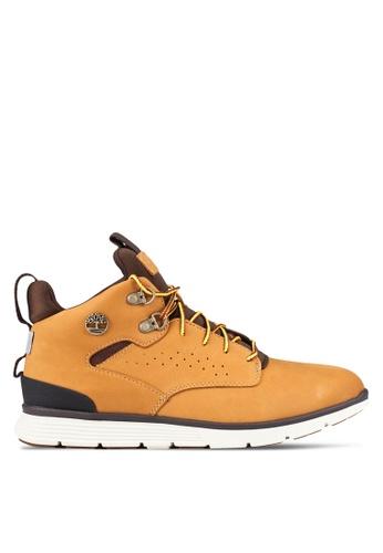 Timberland yellow Killington Hiker Chukka Shoes TI063SH0RWVTMY_1