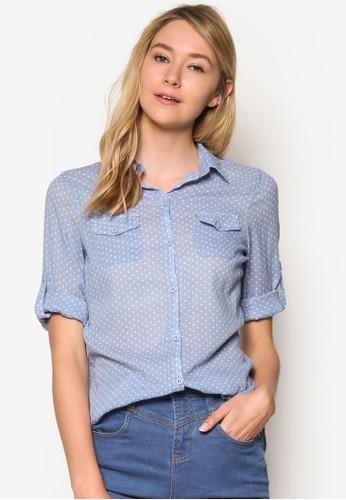 Carla 休閒長袖襯衫、 服飾、 T-shirtCottonOnCarla休閒長袖襯衫最新折價