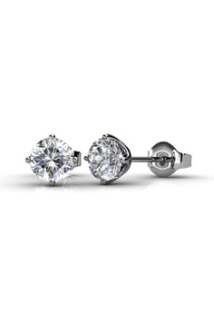 04eb1397e 38% OFF LOVE AND LIFE Love and Life Classical Earrings embellished with  Crystals from Swarovski RM 166.90 NOW RM 103.90 Sizes One Size