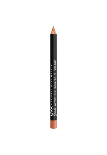 NYX Professional Makeup beige NYX Professional Makeup Suede Matte Lip Liner - SMLL 49 - FETISH 4A73ABE15C6ABBGS_1