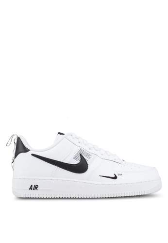 Nike white Air Force 1 '07 Lv8 Utility Shoes 62528SH445E600GS_1
