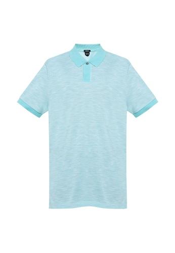 BOSS 藍色 Parlay 19 Polo Shirt 33AA1AA4E726ECGS_1
