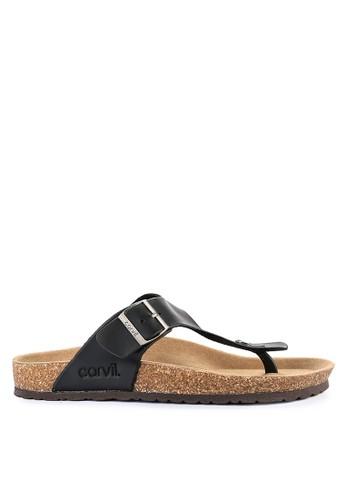 CARVIL black Carvil Sandal Footbed Man Jaden-01 Black 24A1ASHE0383CEGS_1
