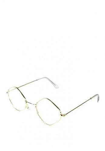 6eeb9b222ef Shop HEY SWEETY Gigi Round Clear Lens Glasses Online on ZALORA Philippines