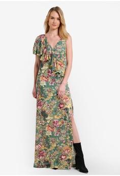 6dfae027a6f6 Mango green Floral Print Dress MA193AA0RK8BMY 1