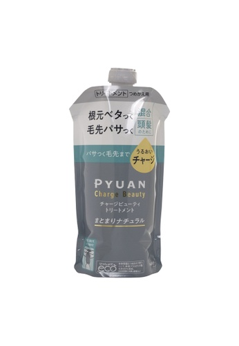KAO KAO PYUAN Charge Beauty Conditioner (Refill) 340ml (Grey) 030DCBEB977870GS_1