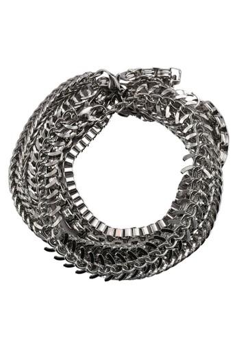 Valdesprit 工作esi 六入金屬手環, 韓系時尚, 梳妝